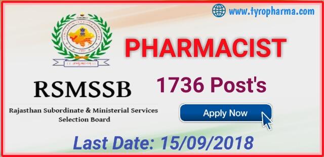 rsmssb-pharmacist-recruitment-2018-1736-posts