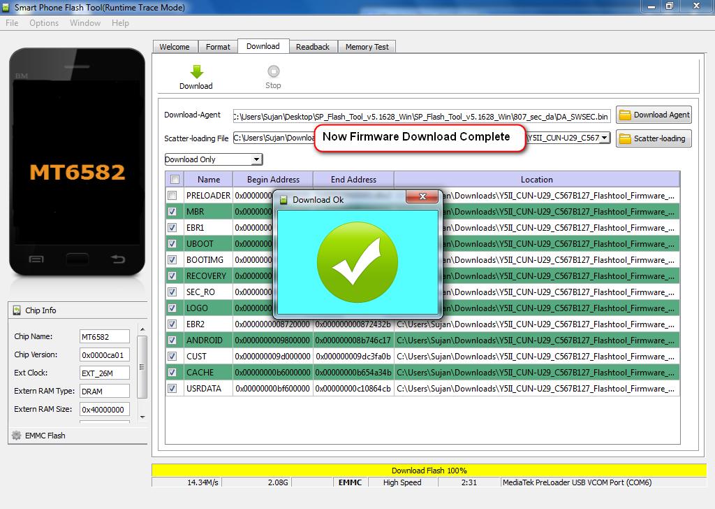 Jobayar Telecom Lenovo A7020a48 Flash File Frp Fix Dead Boot