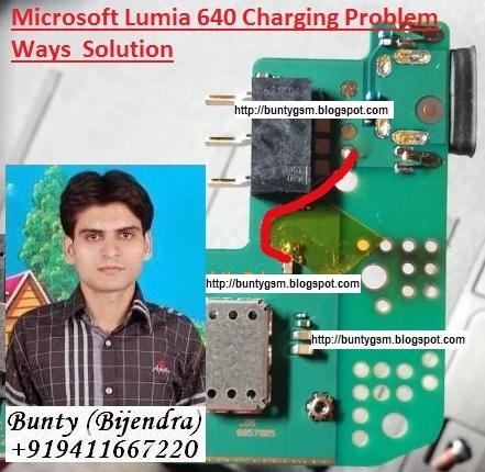 Microsoft Lumia 640 Charging Problem Ways Jumper Solution - IMET
