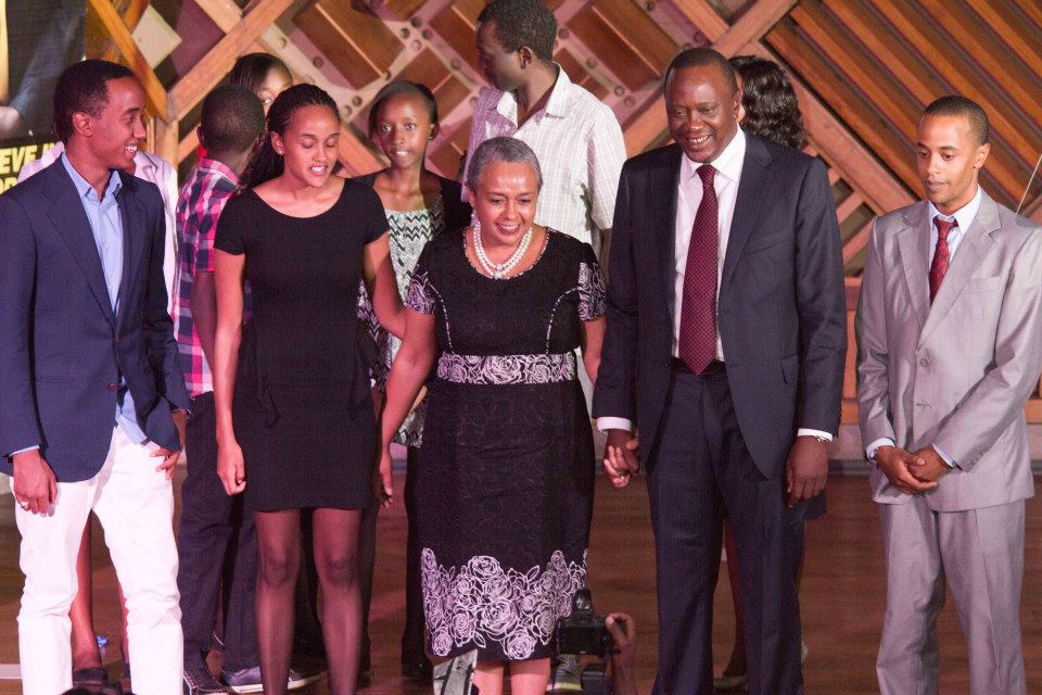 Photos of Uhuru ...Uhuru's Son Jomo