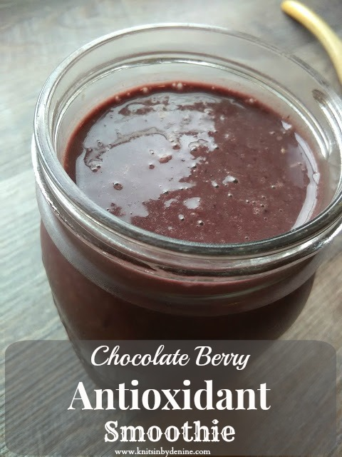 ... or tea a bowl of oatmeal and my go to chocolate antioxidant smoothie