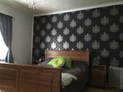 Makuuhuoneen muodonmuutos