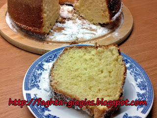 Κέικ Λεμονιού - από «Τα φαγητά της γιαγιάς»