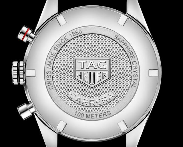 TAG Heuer Carrera Calibre 16 Chronograph solid caseback