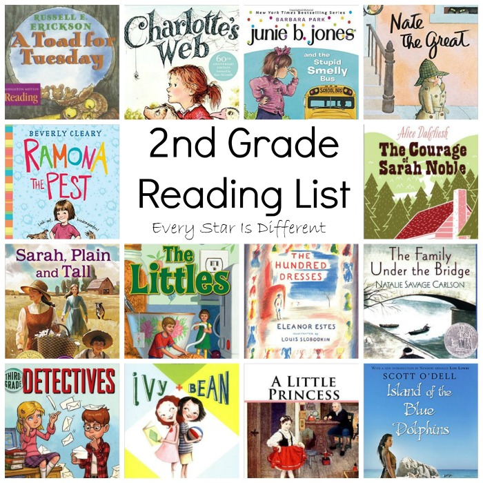 2nd Grade Reading List