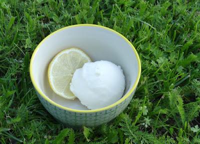 Cremiges Buttermilch-Zitronen-Eis