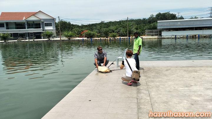 Hasil Memancing Kolam Pancing Natural Exotic Fish Fishing Pond, Behrang
