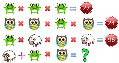 Maths Equations brain teaser