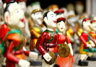 Dao Thuc Water Puppet Show