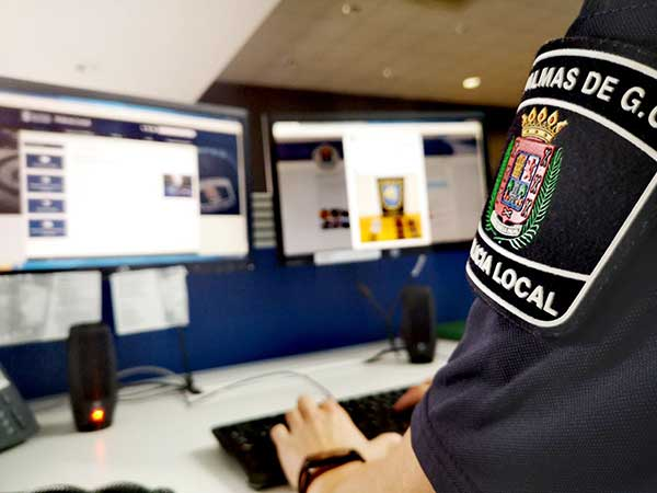 La cuenta de twitter de la Policía Local de Las Palmas de Gran Canaria bate récord de tuits