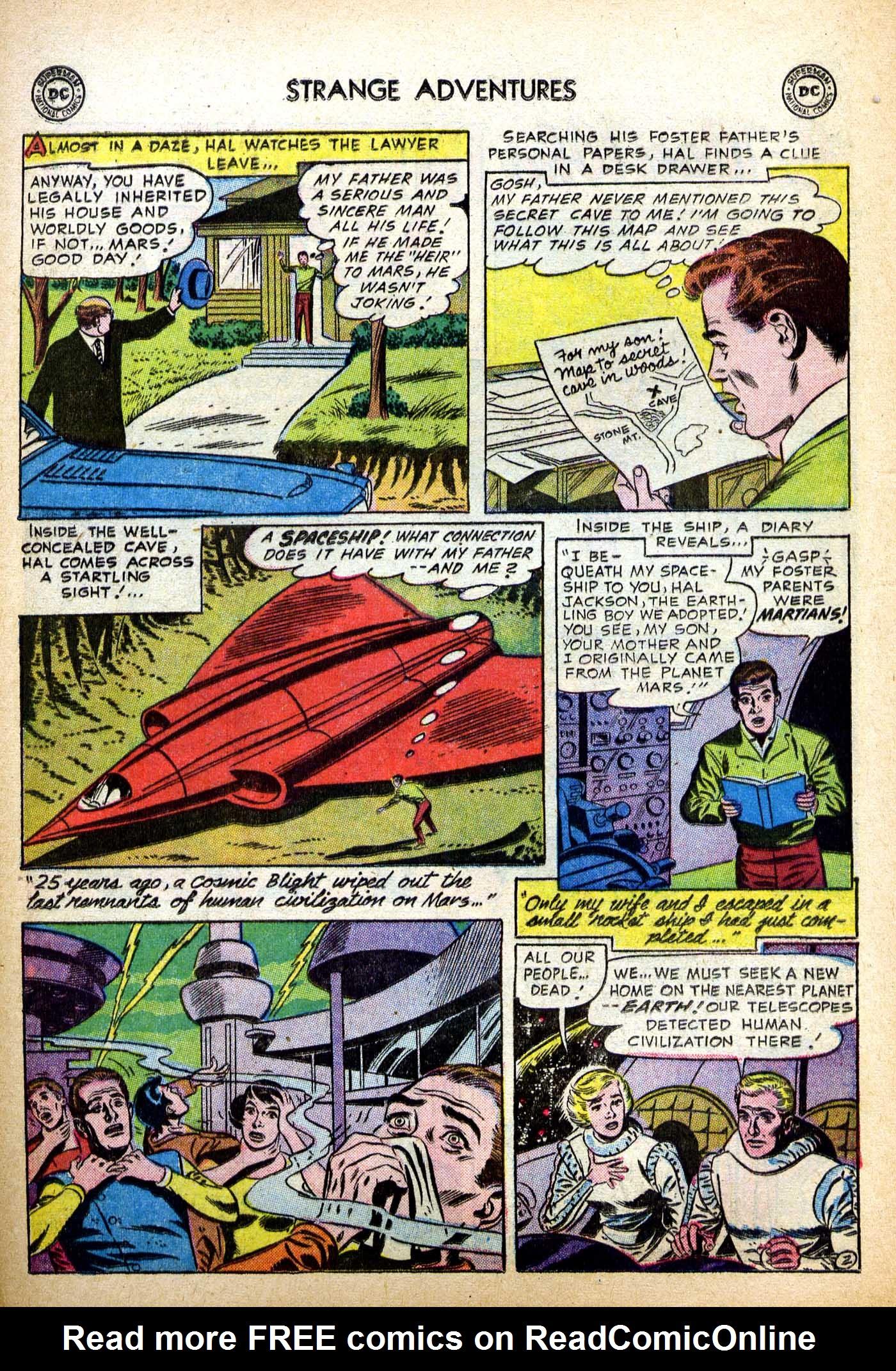Strange Adventures (1950) issue 82 - Page 11