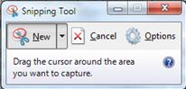 aplikasi snipping tool menangkap dan cropping gambar