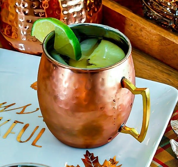 APPLE CIDER MOSCOW MULE #Dinner #PartyDrink
