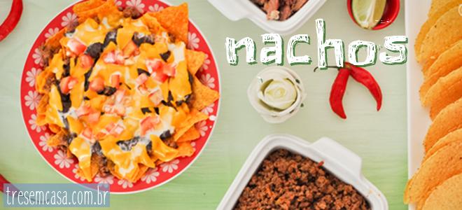 como fazer nachos