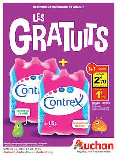 Offre des catalogues promotionnels Auchan 29 Mars au 04 Avril 2017