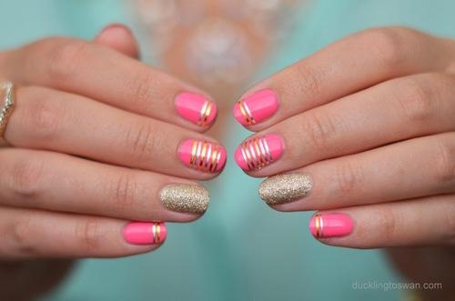 como decorar uñas para que se vean mas largas