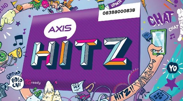 Kartu perdana hemat cuma di Axis Hitz
