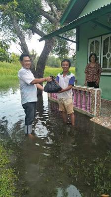 Lagi, Tim ISO Santuni Korban Banjir