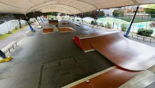 Skatepark Paris Jules Noel couvert éclairé