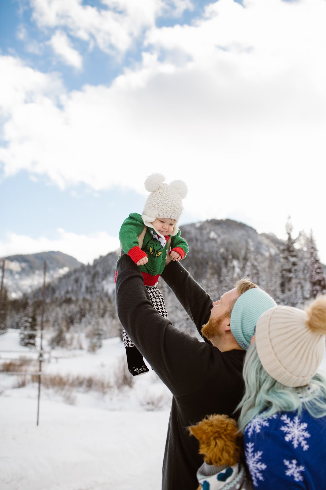 Family Photos, Big Cottonwood Canyon, Fashion Blogger