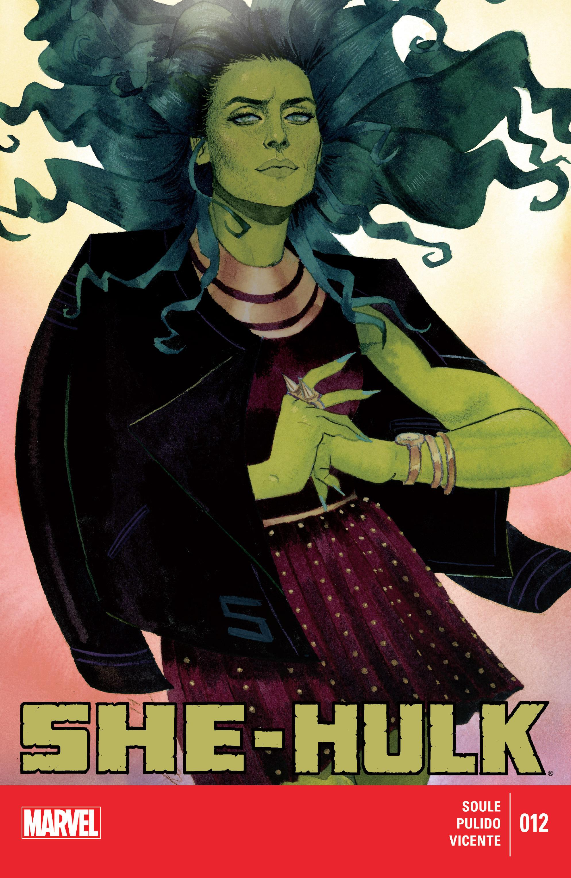 Read online She-Hulk (2014) comic -  Issue #12 - 1