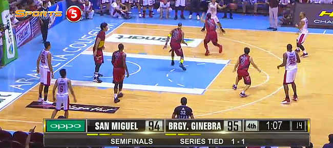 Brgy. Ginebra def. San Miguel, 97-96 (REPLAY VIDEO) September 30 - SEMIS Game 3