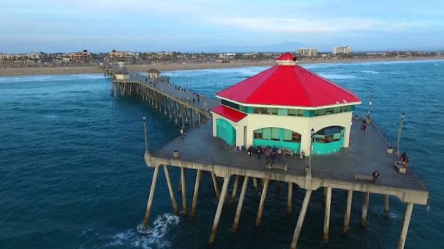 Visita ao Píer em Huntington Beach