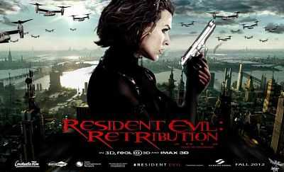 Resident Evil Retribution (2012) Hindi - Tamil - Telugu - Eng 400mb BDRip 480p