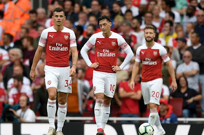 Highlight Arsenal 0-2 Manchester City, 12 Agustus 2018
