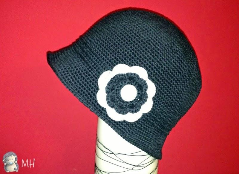 Sombrero cloche a crochet