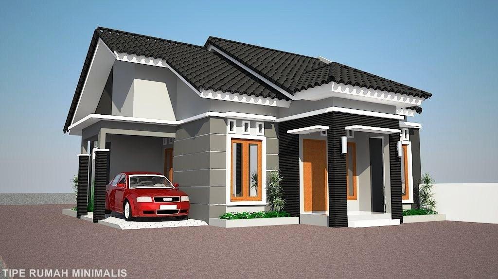 Rumah 2 Lantai Atap Limas Rumah Minimalis Idaman