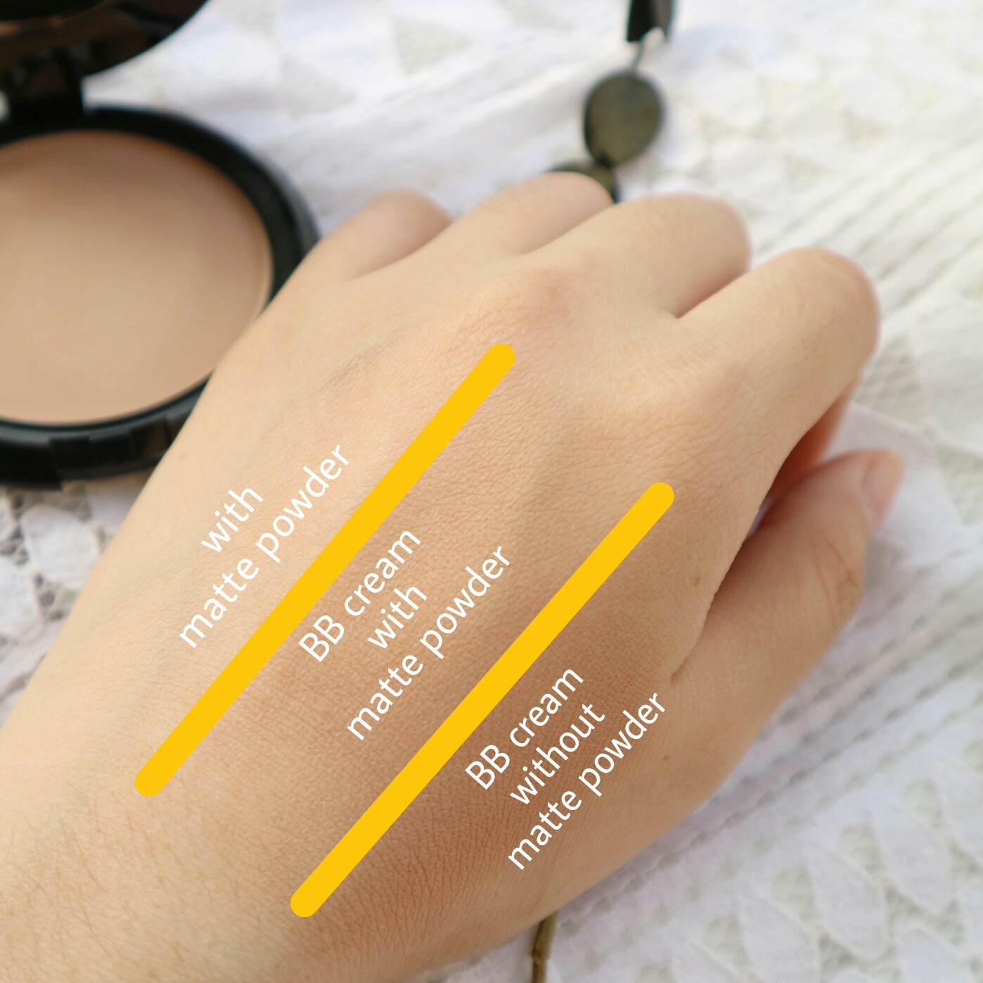 PURBASARI Hydra Series BB Cream + Oil Control Matte Powder
