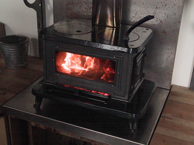 Modern Style Wood Stove Glass