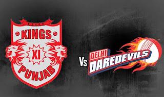 Delhi Daredevils (DD) vs (KXIP) Kings XI Punjab