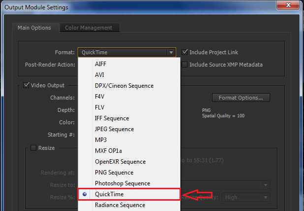 All Alpha channel Codec In Adobe After Effects CC | CMP