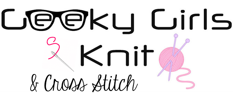 Geeky Girls Knit and Cross Stitch