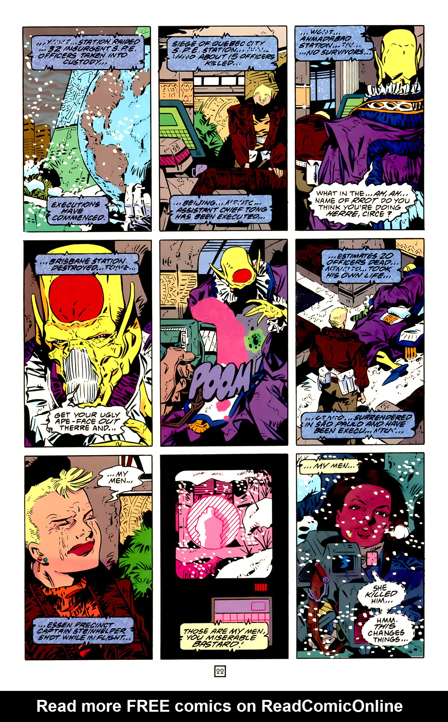 Legion of Super-Heroes (1989) 20 Page 22