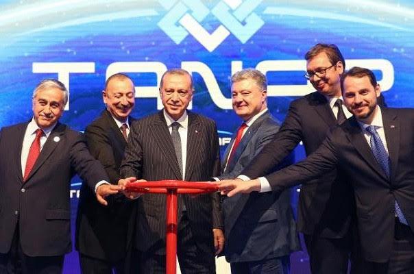 Turquía abre gasoducto de Azerbaiyán