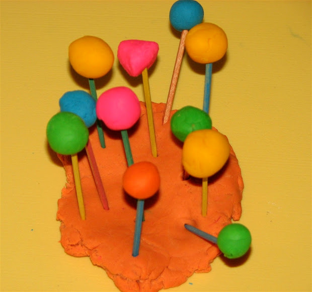 Play Dough Sculptures And . Putti' World -kids-activities