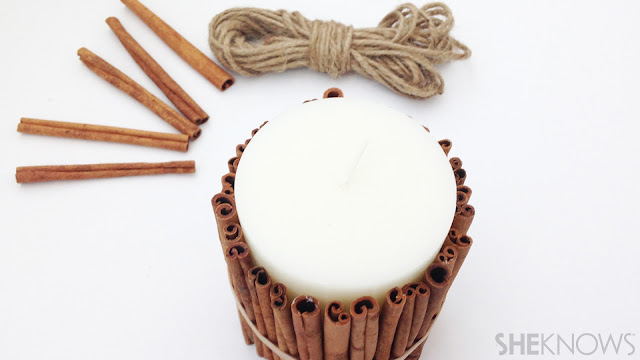 Ioanna's Notebook - DIY Cinnamon scented candle - step 03