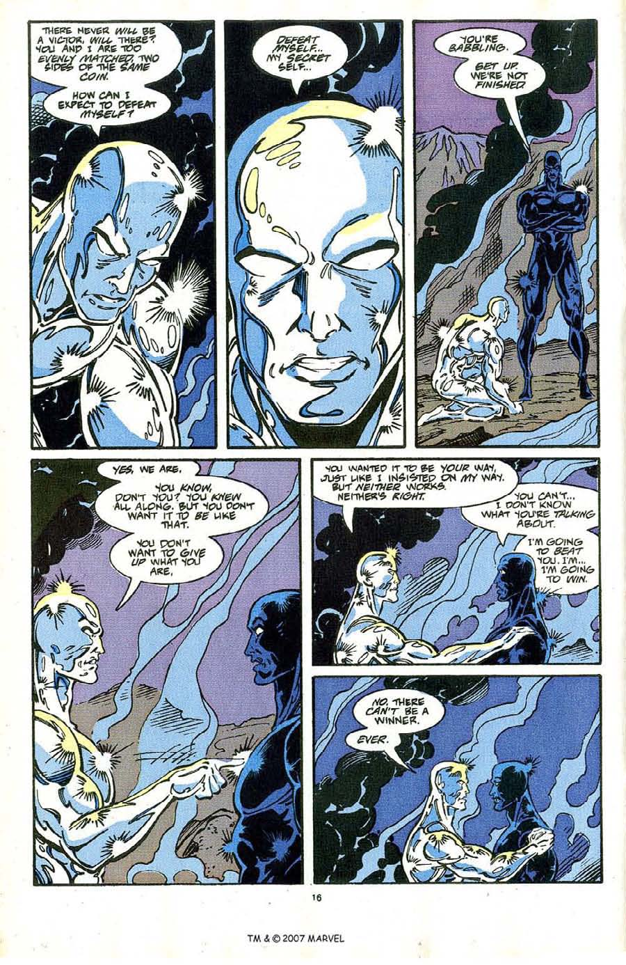 Read online Silver Surfer (1987) comic -  Issue #64 - 18