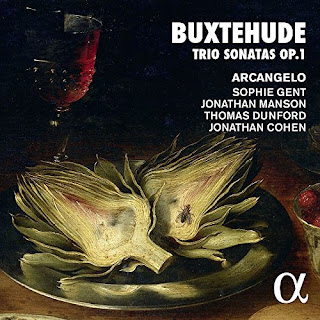 Dietrich Buxtehude Trio Sonatas, Opus 1; Arcangelo; Alpha Classics
