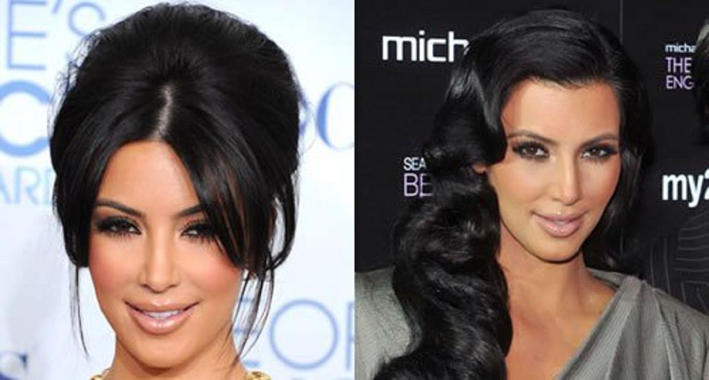 Peinados Como Kim Kardashian Peinados Populares En Espana