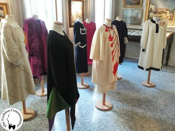 Valentina Cortese - Mostra Milano - Exhibition setting