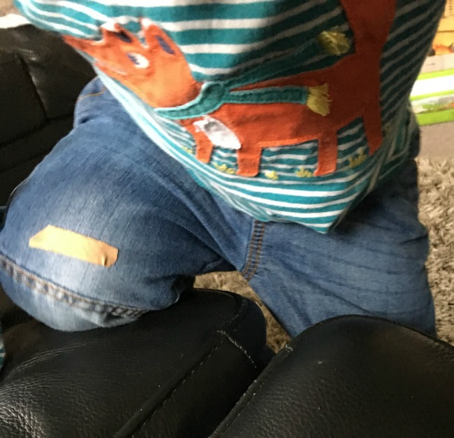 our-weekly-journal-13-feb-2017-plaster-stuck-on-toddlers-jeans