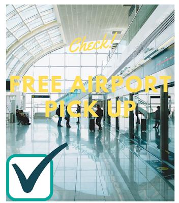 get free pick up in the Keflavik or Reykjavik airport