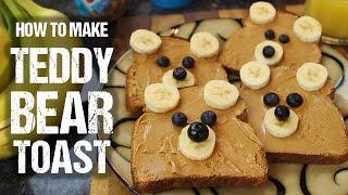"Як зробити тости-""ведмедики""?"