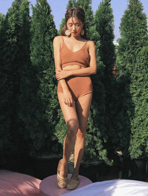 Ribbed Knit Bikini