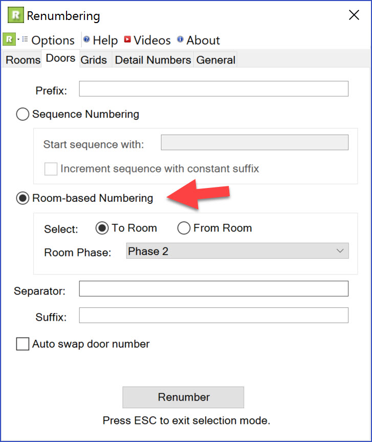 BIM Chapters: Revit's To and From Room Values for Doors and