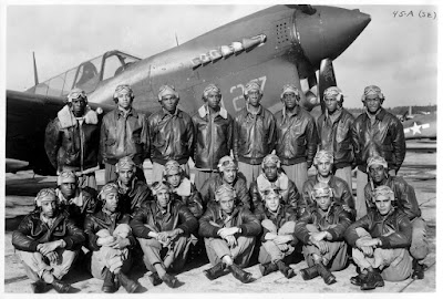 First Cadets graduate from the Army Flight School at Tuskegee Institute, Alabama